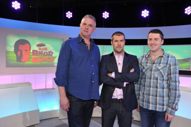 Greg Davies, Rhod and Lloyd Langford