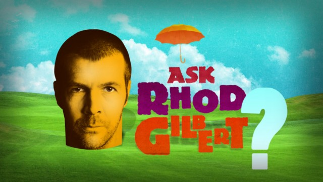 Ask Rhod Gilbert logo