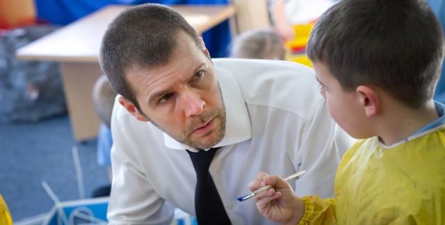 Rhod as School Teacher