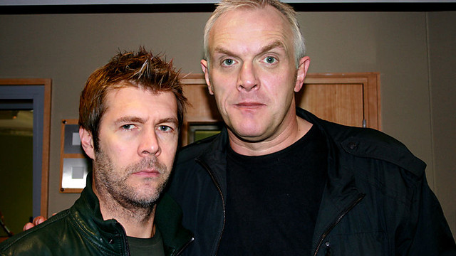 Rhod and Greg Davies