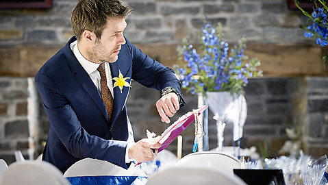 Rhod as Wedding Planner
