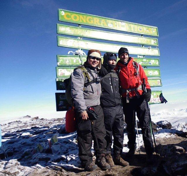 Rhod at Kilimanjaro