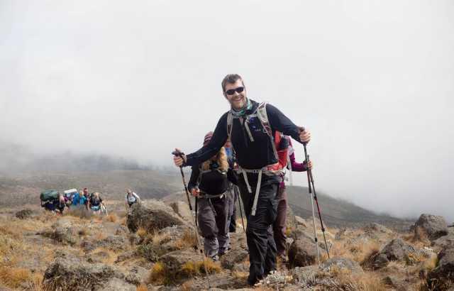 Rhod hiking