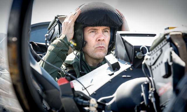 Rhod as fighter pilot image