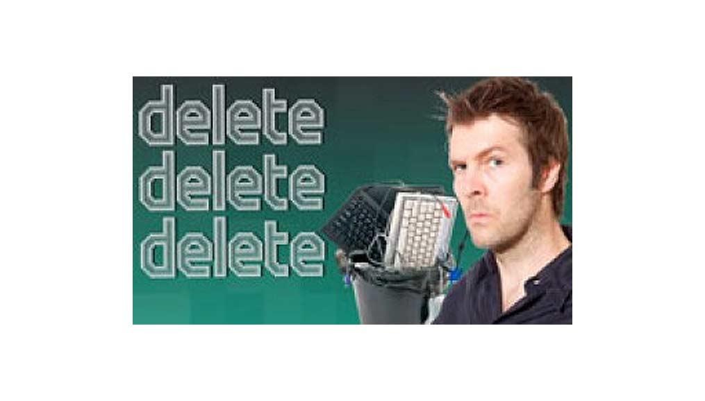 delete, delete, delete photo