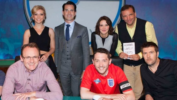 Rhod Gilbert cast photo on 8 out of 10 cats