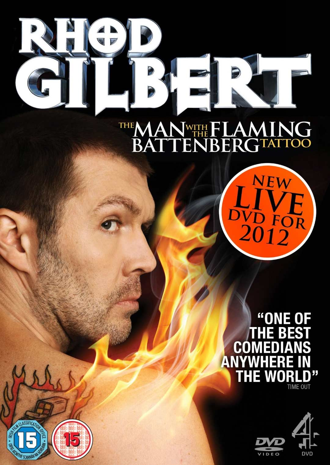 The Man with the Flaming Battenberg Tattoo DVD cover