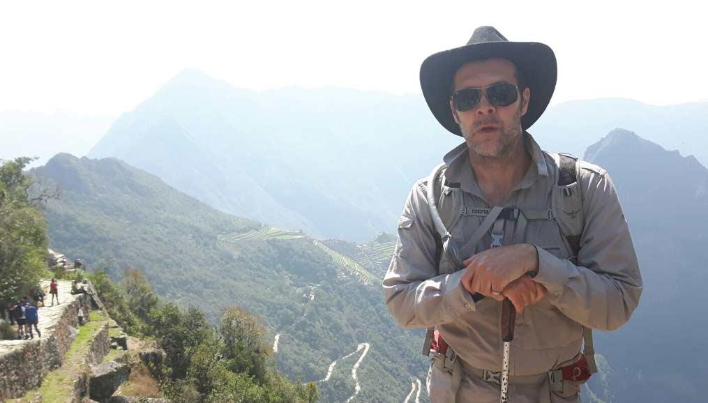 Rhod Gilbert in Peru
