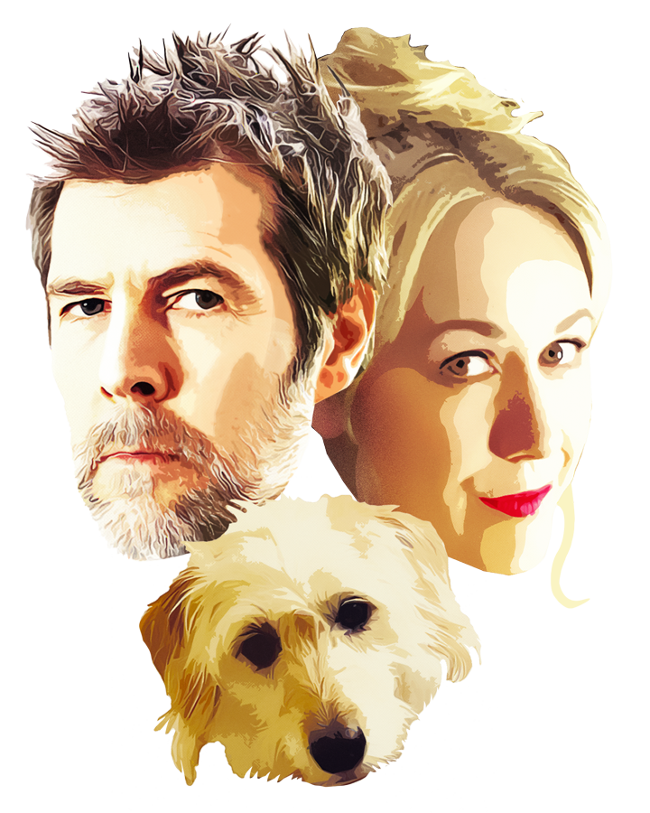 Illustration of Rhod, Sian and Rosie
